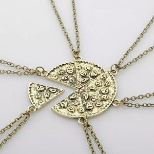 """""""Pizza My Heart"""" Necklace"""